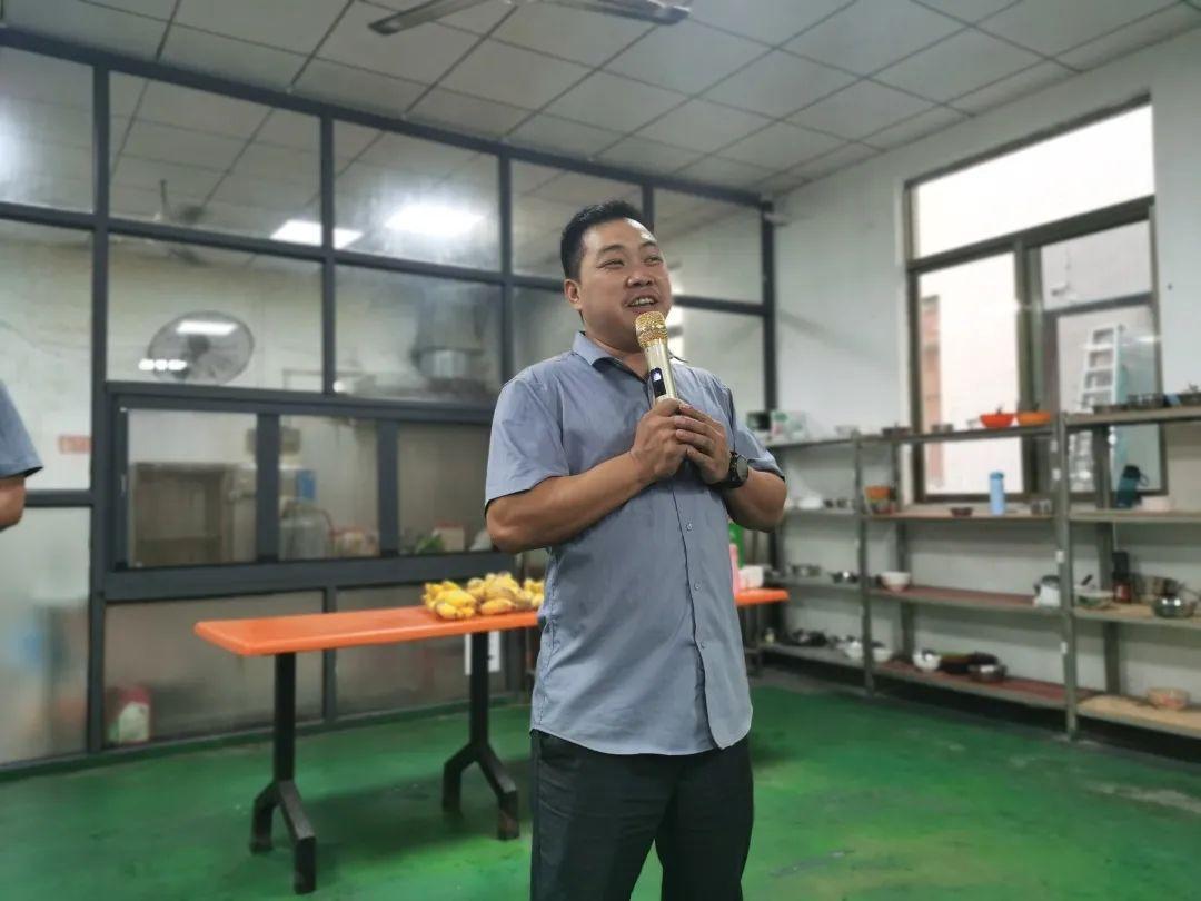 副总经理王永江同志讲话